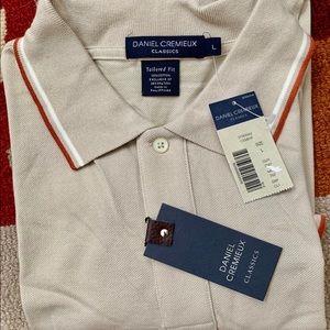 Daniel Cremieux CLASSIC polo! NWT! Luxury Item